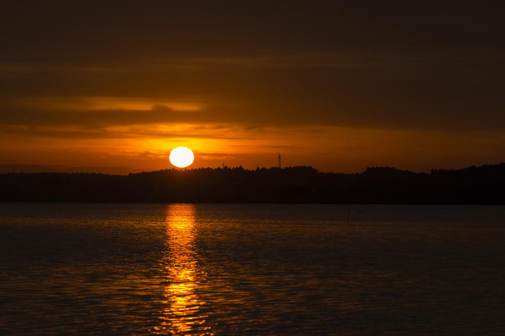 親沢からの日の出